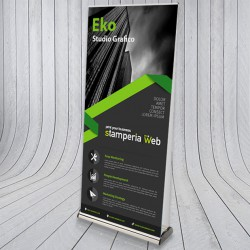 Roll-Up Bifacciale 85x200