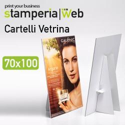 Cartello vetrina 70x100