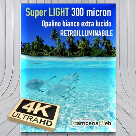 Backlight opalino lucido
