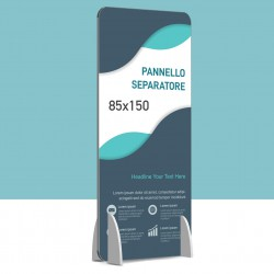 Barriera anti contagio separatore 85x150