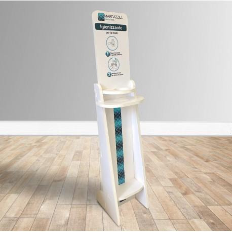 Dispenser da terra per dosatore Igienizzante